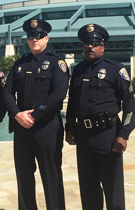 CSUF Police Officers