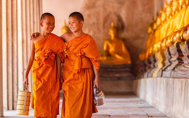 Buddhist Tibetan Children