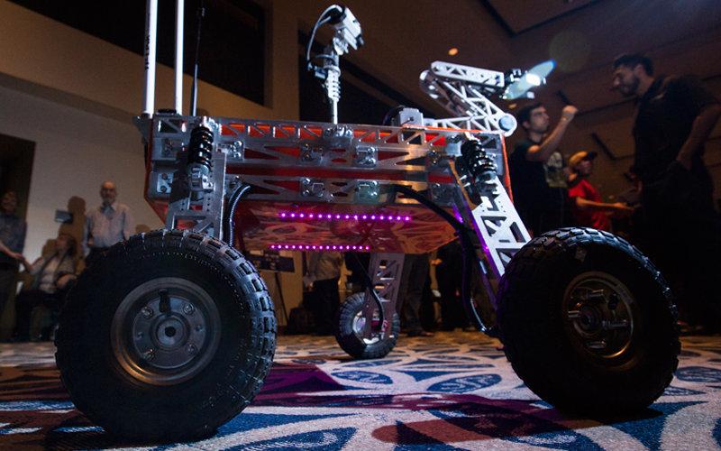 Robotic Mars Rover