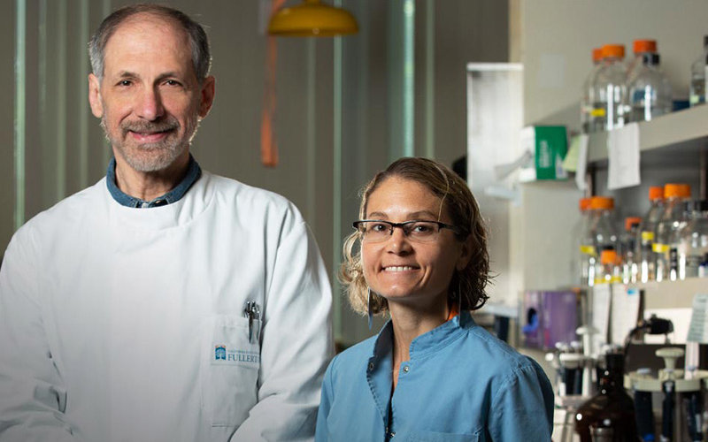 Acinetobacter Baumannii researchers Marcelo Tolmasky and Maria Soledad