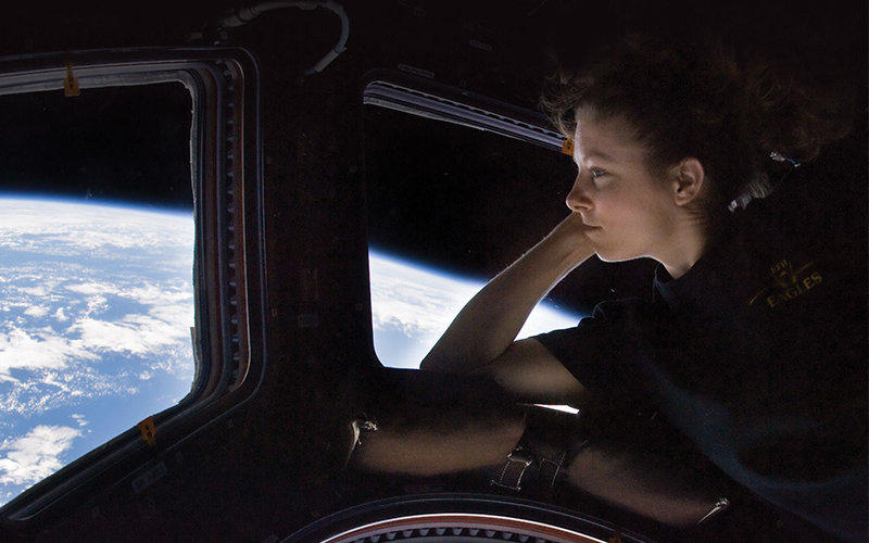 Tracy Caldwell Dyson on International Space Station