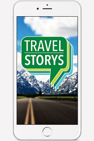 Travel Storys App Screen Shot