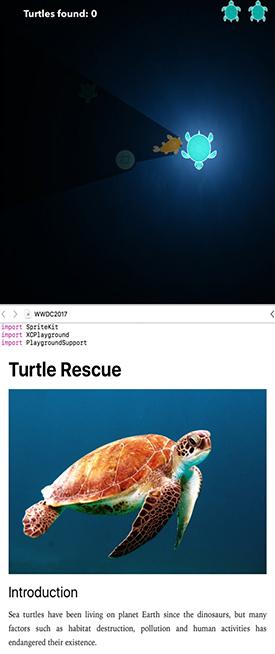 Turtle Rescue App