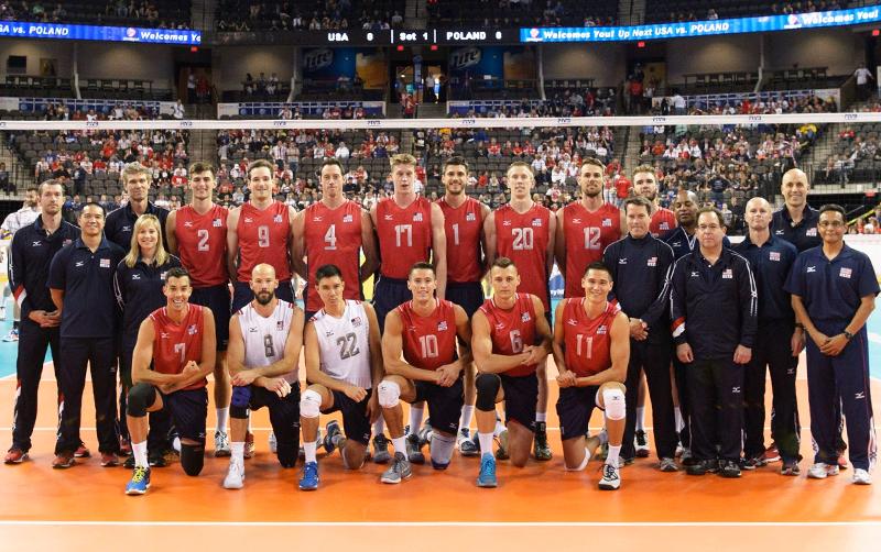 USA Mens Volleyball Team
