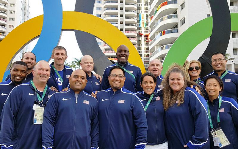 USA Track Field Medical Staff