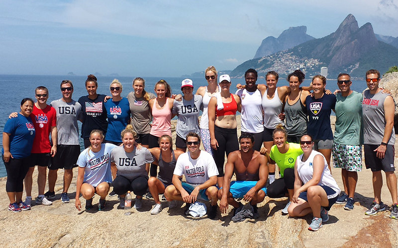 USA Water Polo Team
