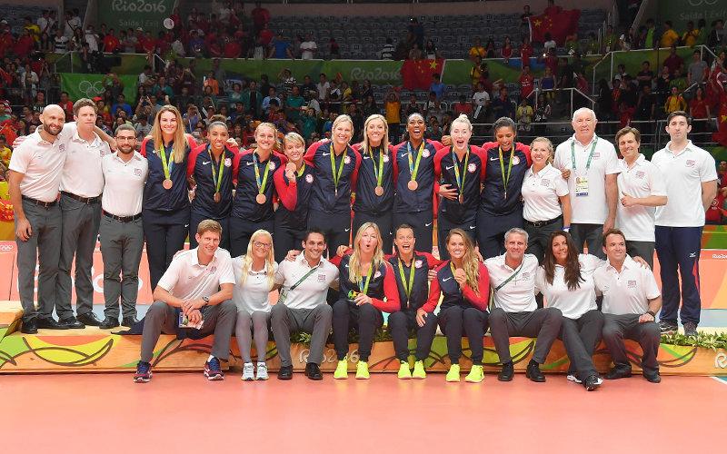 USA Womens Volley Ball Team
