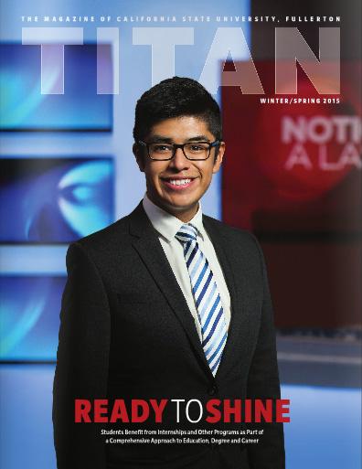 View this issue online - Titan Magazine Winter/Spring 2015