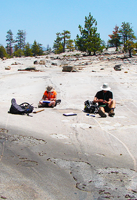 Student Researchers in Yosemite National Park
