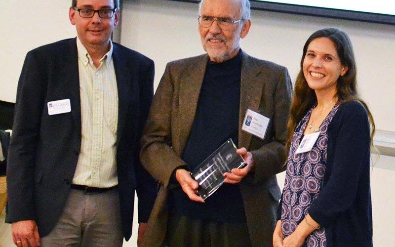 H. Eric Streitberger receives the award