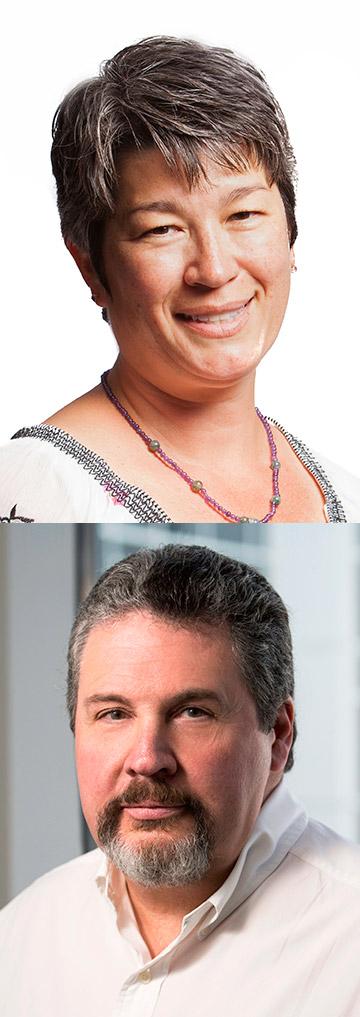 Leah Brew and Randy Hoffman