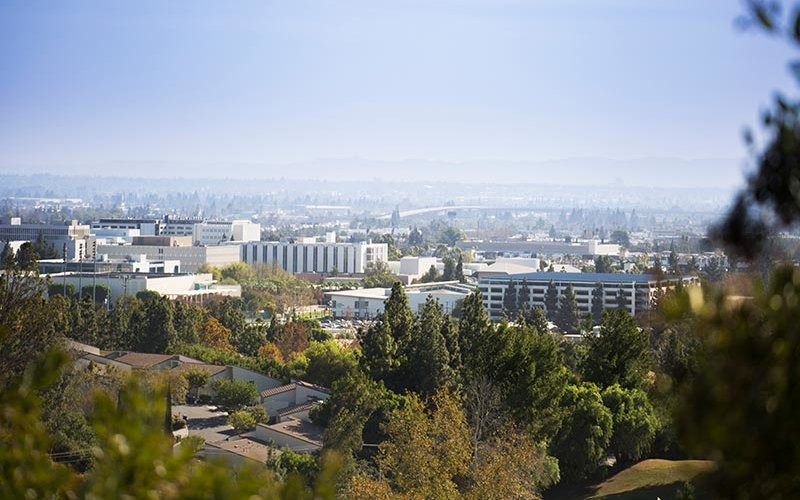 CSUF aerial view