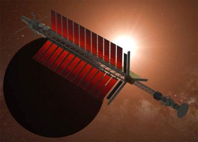 illustration of interstellar probe
