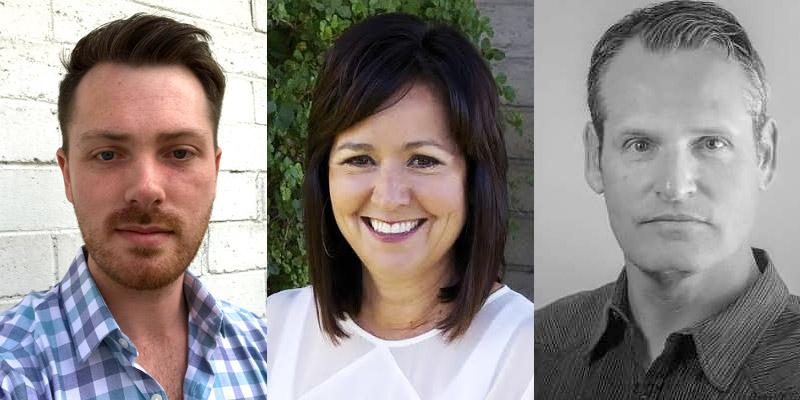 Nicholas Hiegel, Linda Luna-Franks and Jason Kandel