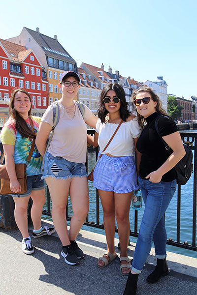 Photo of Denmark Study Abroad students