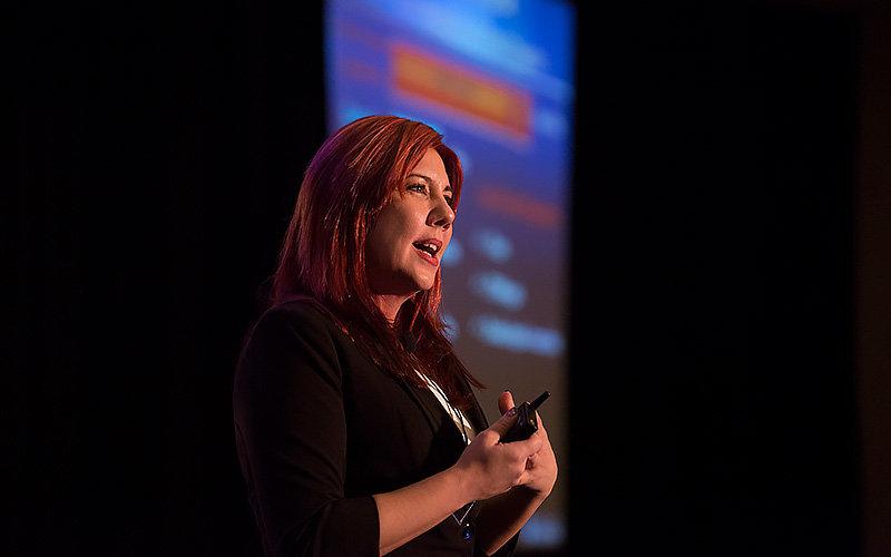 Mira Farka speaks at 2017 Economic Forecast