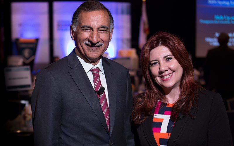 Economists Anil Puri and Mira Farka