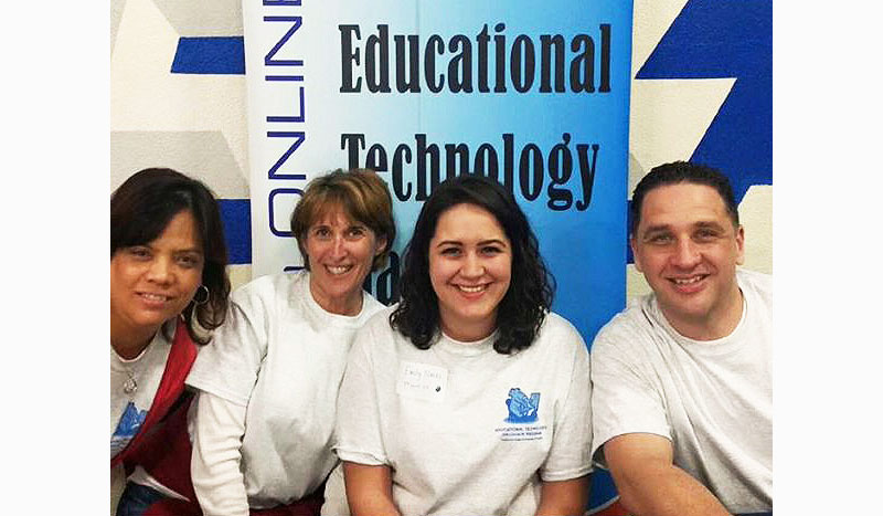 Group of educators