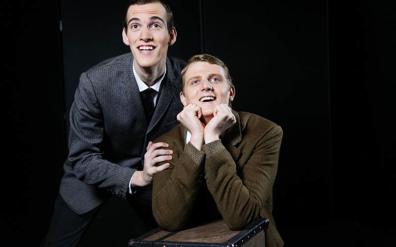 Cast members of The Two Gentlemen of Verona