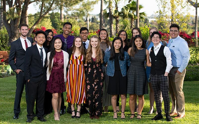 Incoming Presidents Scholars