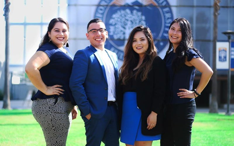 2018 Maywood Education Fair students