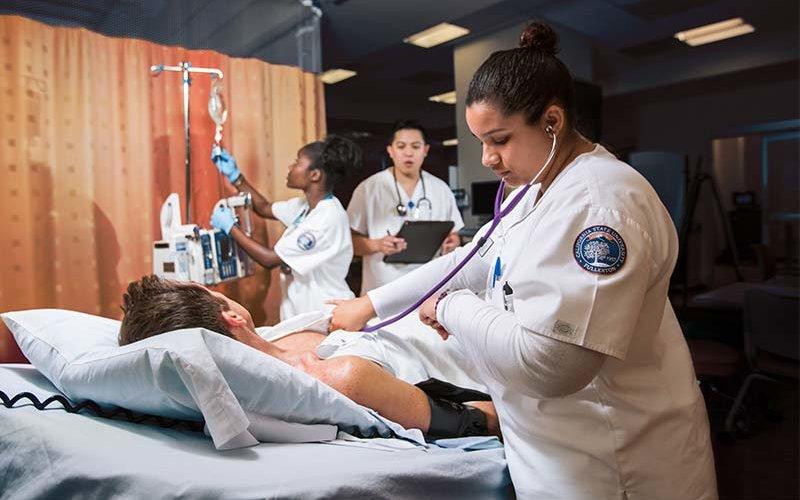 CSUF Nursing Students