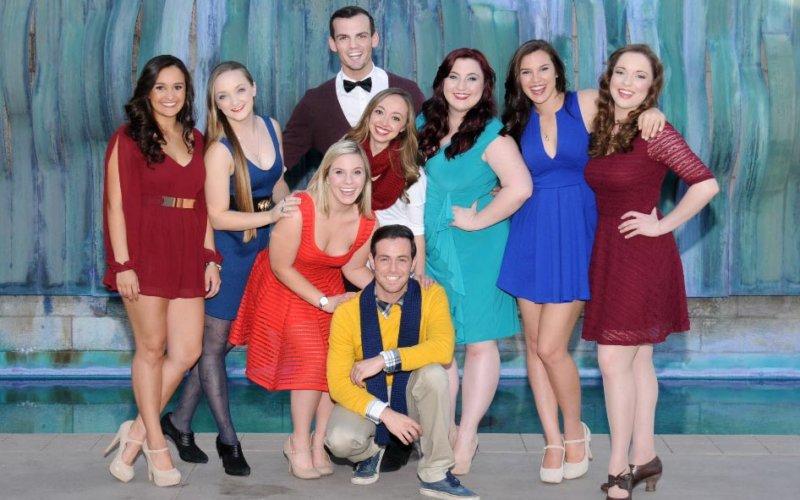 Nine theatre arts seniors