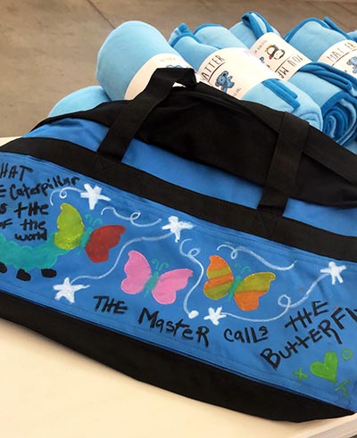 """CSUF students, faculty, staff and community members came together to pack 165 """"sweet cases"""""""
