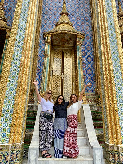 Thailand and Singapore study abroad experience