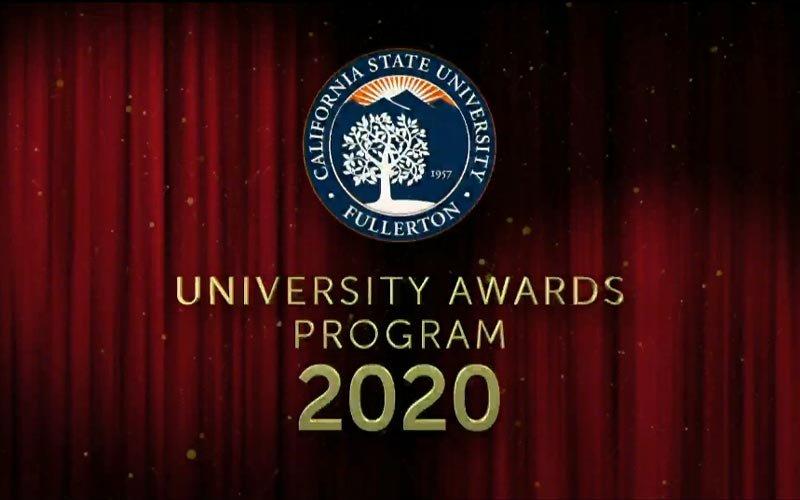 University Awards Program 2020
