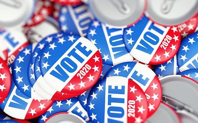 2020 election badges