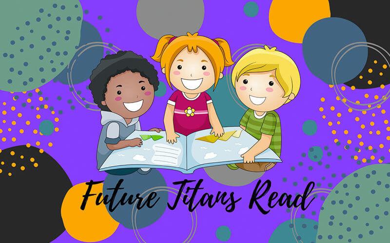 Future Titans Read illustrated graphic