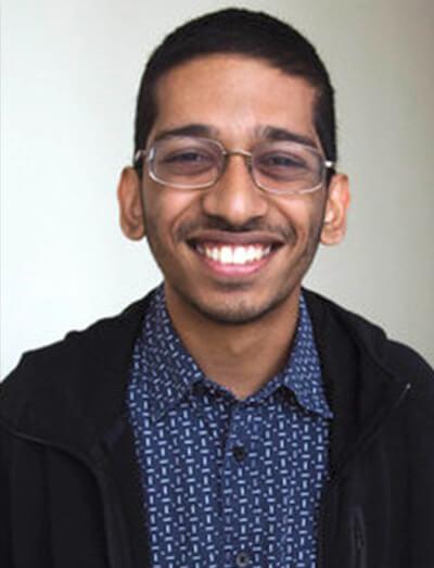 CSUF Student Josiah Peedikayil