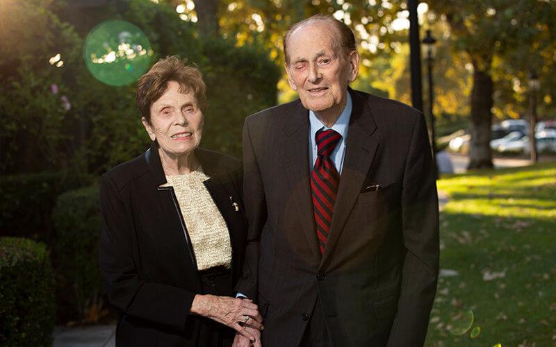 Nicholas and Lee Begovich, CSUF Philanthropists
