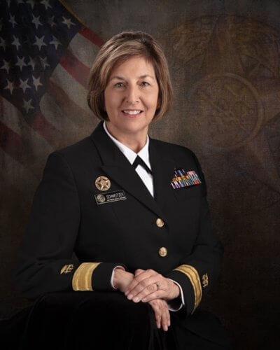 Retired Rear Admiral Pamela M. Schweitzer