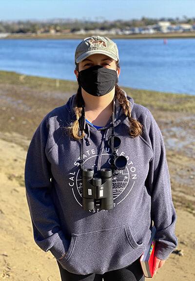 Alisa Hernandez on coast.