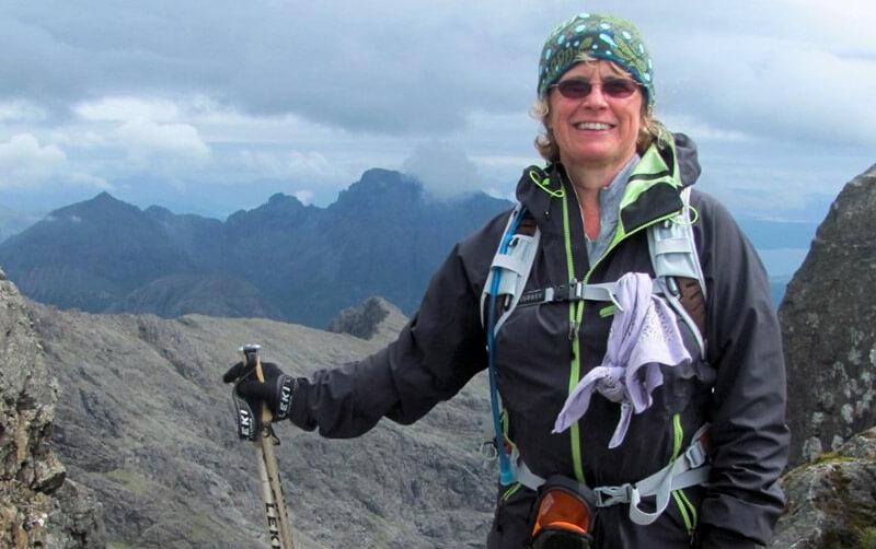 Geologist Christine Irwin