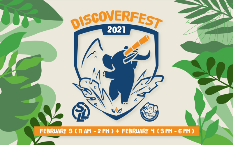 Discoverfest 2021 Graphic