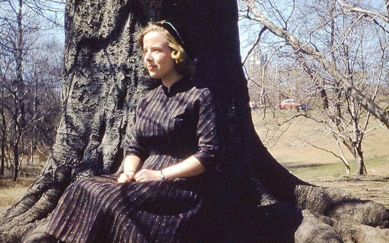Vintage photo of Martha Darby McCarthy