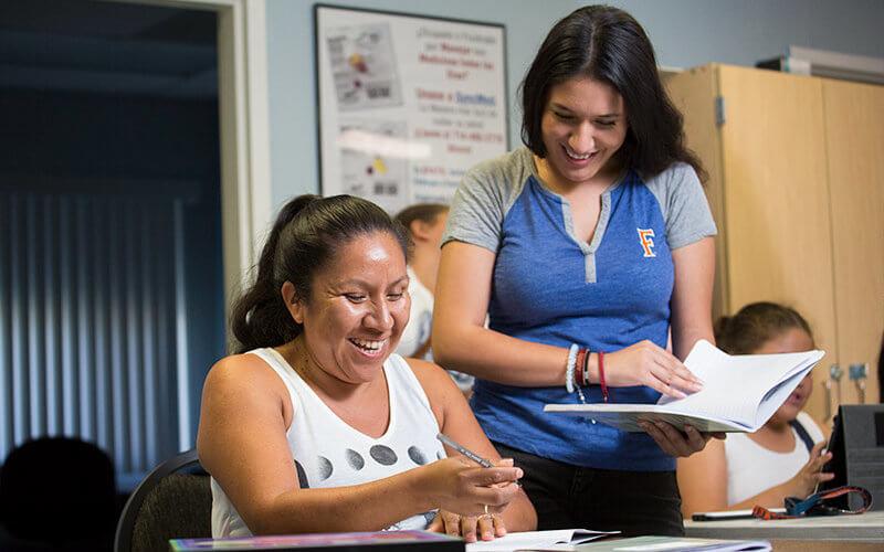 Center for Healthy Neighborhoods mentor an mentee