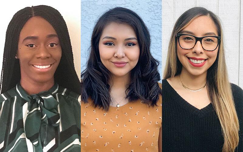 Rwanda Carter, Jacqueline Pantoja, Tania Carrillo