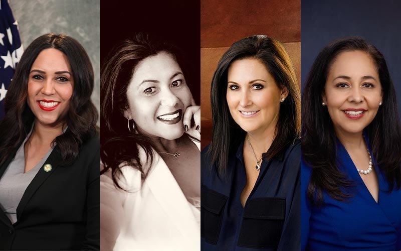 Myra Maravilla, Michele Martinez, Crystal K. Miles and Claudia Alvarez