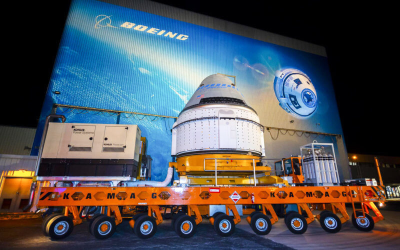 Boeing Starliner Rollout