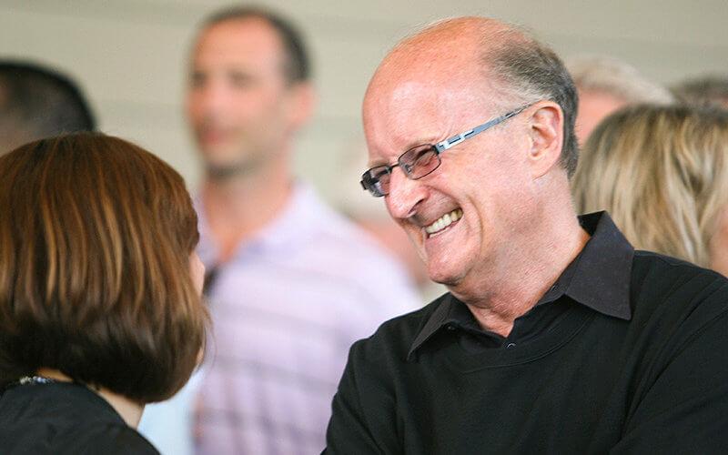 Jack Bedell smiling