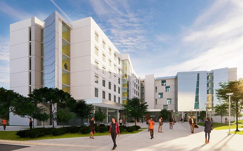 CSUF Housing Rendering