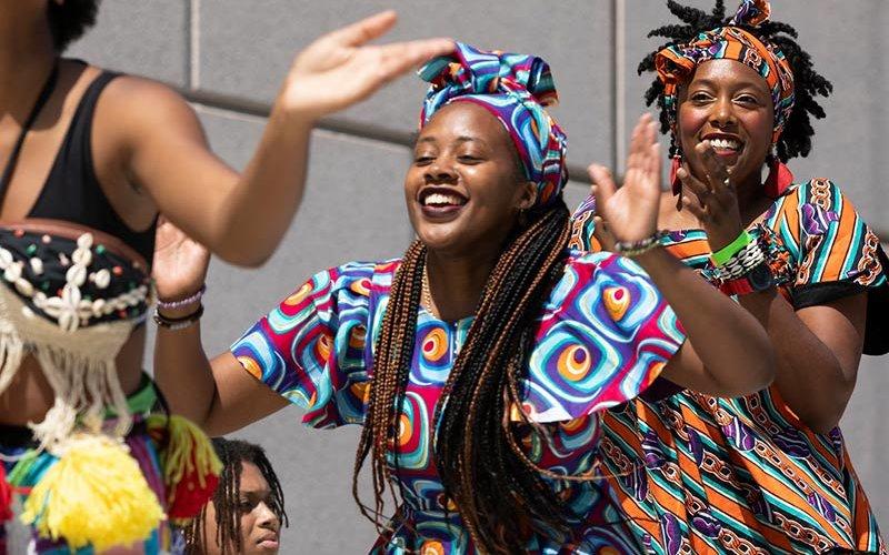 Juneteenth Celebration Dancers