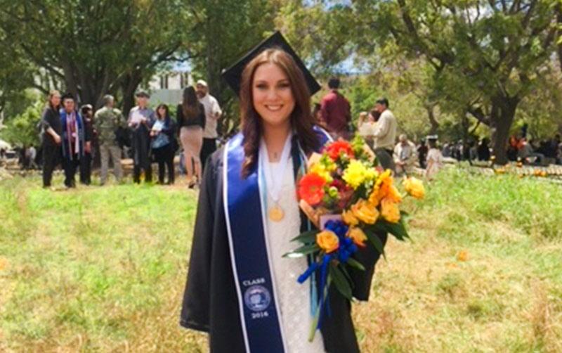 Nicole Tran Graduating