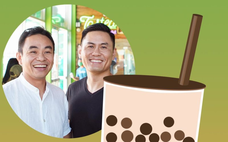Ted Vu and Scott Nguyen