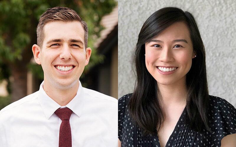 Matthew Cosaert and Kristy Nguyen